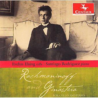 Handel/Bonocini/Corelli/Lulier - Rachmaninoff and Ginastera for Cello and Piano [CD] USA import