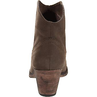 Rocket Dog Womens SOUNDOFF VINTAGE WORN PU Suede Closed Toe Ankle Cowboy Boots