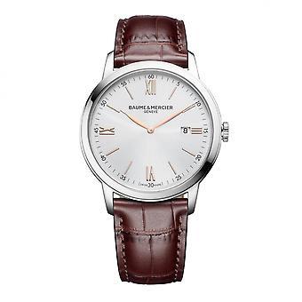 Baume & Mercier BM0A10415 Ρολόι χειρός με ασημένιο τόνο Classima