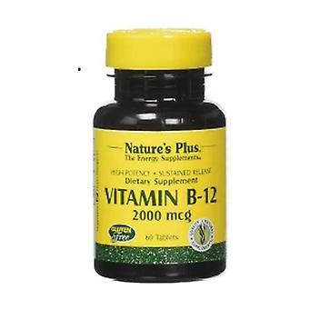 B12 vitamin 60 tablets of 2000μg