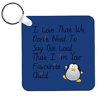 Im Your Favourite Child Keyring
