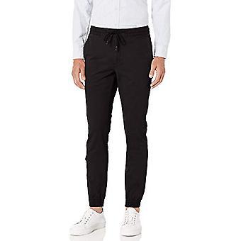 Brand - Goodthreads Men's Skinny-Fit Jogger Pant, Black Small/30