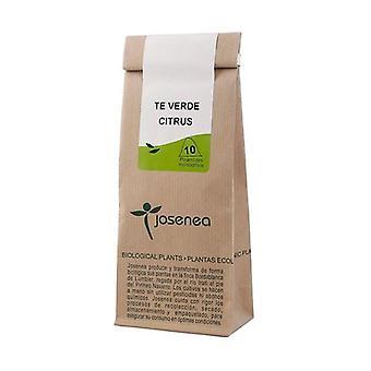 Groene thee met Pepermunt Kraft 10 infuuszakken (Groene Thee - Pepermunt)