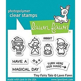 Gazon Fawn Tiny Fairy Tale Duidelijke Stempels
