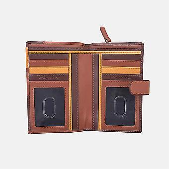 Primehide Womens Leather Purse Wallet RFID Blocking Card Holder Ladies 6188