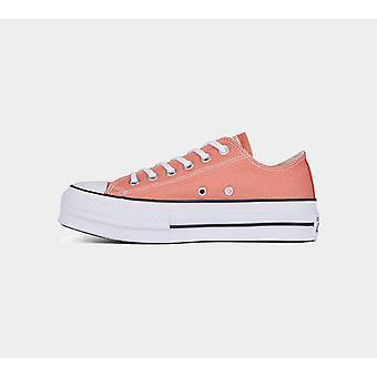 Converse Ctas Lift Ox 563495C Desert Peach Womens Shoes Boots