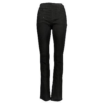 NorthStyle Women's Pants Border Print Capri Black / White