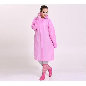 Women Men Transparent Raincoat - Portable Outdoor Travel Waterproof