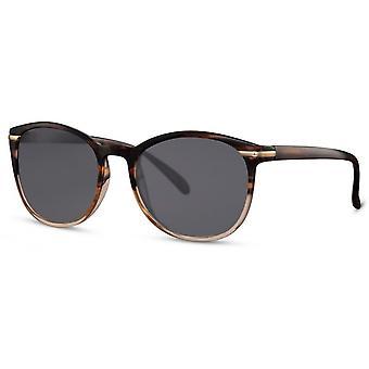 النظارات الشمسية Unisex الطريق كات. 3 بني / ذهبي / أسود