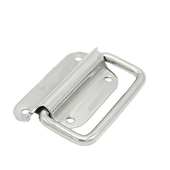 Stainless Steel Surface Mount Chest Handle Medium Silver