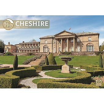 Cheshire A4 Calendar 2021