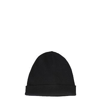 Rick Owens Ru20f3495ribm09 Men's Black Wool Hat