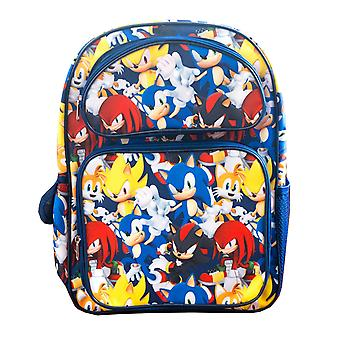 Sonic the Hedgehog Backpack Sonic & Friends Over all Print