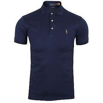 Ralph lauren men's navy pima polo shirt