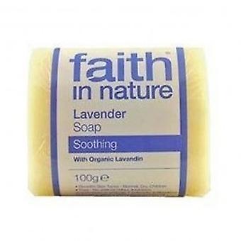 Faith In Nature - Lavender Pure Veg Soap 100g