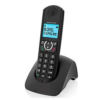 Drahtloses Telefon Alcatel F380S Duo DECT Schwarz