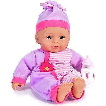 Kandy Spielzeug 13Zoll Babypuppe mit Flasche