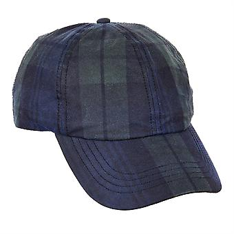 ZH214 (BLACKWATCH ONE SIZE ) Ewan Tartan Wax BB Cap