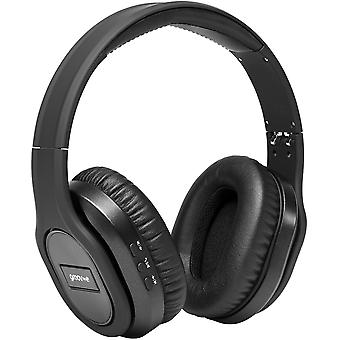 Elite Wireless Bluetooth Active Noise-Cancelling Travel On Ear Headphones Black