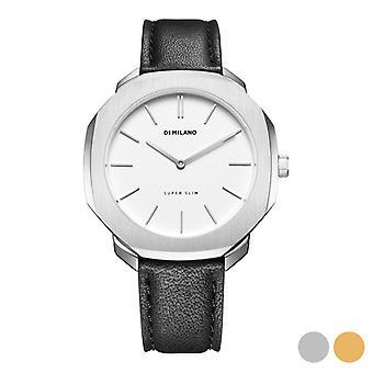 Män's Klocka D1-MILANO (41 mm)/Guld