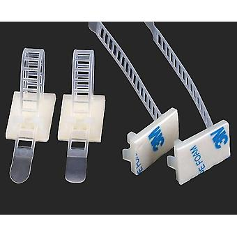Cable Clamps Wiring Accessories, Tie Mounts Environmental Protection