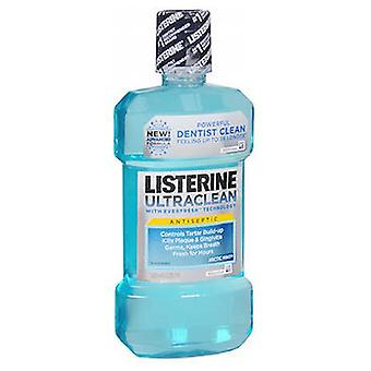 Listerine Ultraclean Antiseptic Mouthwash, Arctic Mint 500 ml