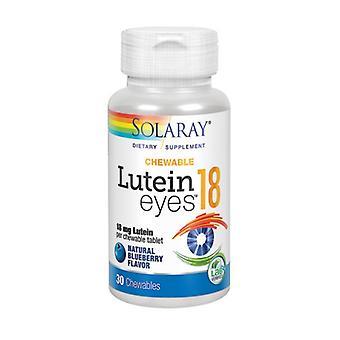 Solaray Lutein Augen, 18 mg, 30 Kauen