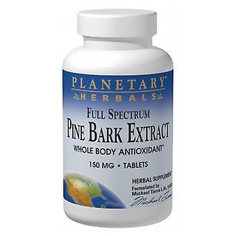 Planetary Herbals Full Spectrum Pine Bark Extrait, 150mg, 60 onglets