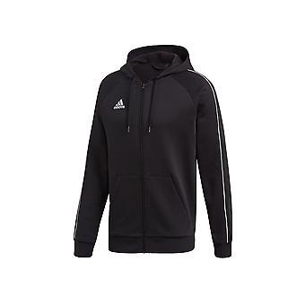 Adidas Core 18 FZ Hoodie FT8068 football all year men sweatshirts
