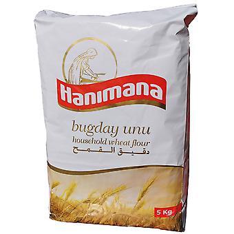 Hanimana Household Plain Wheat Flour 5kg