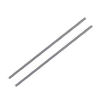 2 piezas de alta precisión 200mm x 5mm eje del cilindro eje lineal eje óptico eje