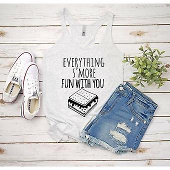 Tudo mais divertido com você camisa