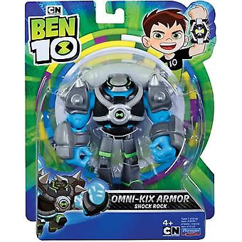 ben 10 action figure - shock armor for ages 4+