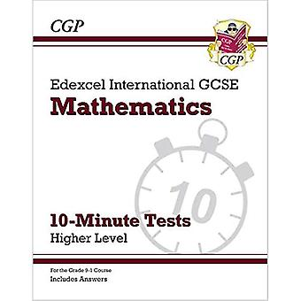 New Grade 9-1 Edexcel International GCSE Maths 10-Minute Tests - Higher (includes Answers)
