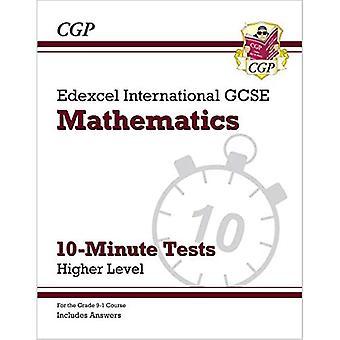 Ny grade 9-1 Edexcel International GCSE matematik 10-minutters tests-højere (inkluderer svar)