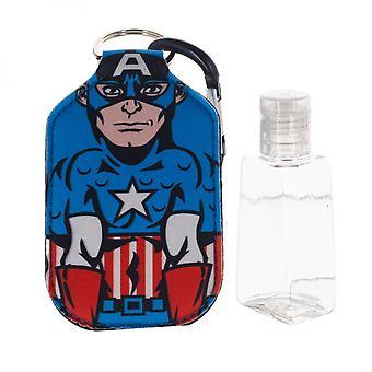 Captain America Marvel Character Neoprene Bottle Keychain
