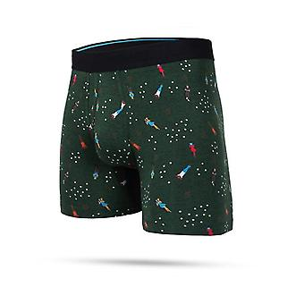 Stance Snake Boxer Brief Underwear in Green
