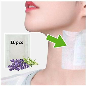 Neck Lymphatic Detox Patch Anti Swelling Herbal Pads To Improve Sleep Foot