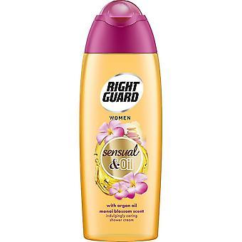 Right Guard 3 X Right Guard Shower Cream - Sensual Oil