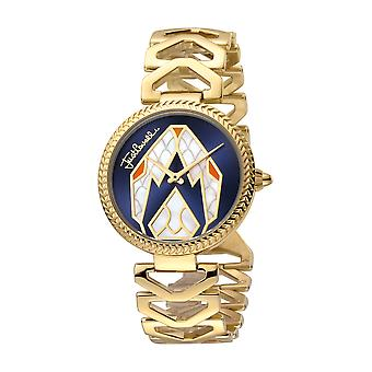 Just Cavalli Women's Magnifica D.Blue Dial Stainless Steel Watch