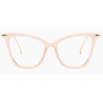 Katze Eye Glasses Frames Frauen Design Transparent Große Brillen weiblich klar