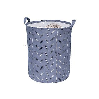 Waterproof, Large Capacity And Foldable Laundry Basket-drawstring Closure
