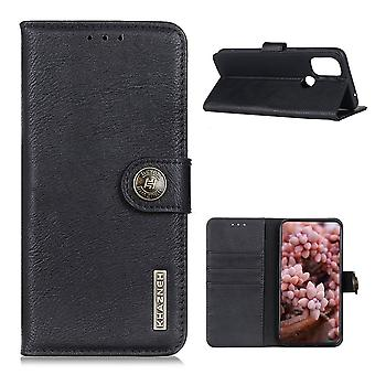 KHAZNEH OnePlus Nord N100 Wallet Case - Zwart
