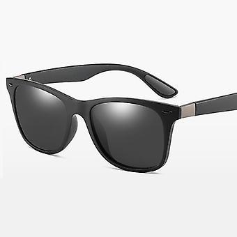 خمر مربع الرجال النظارات الشمسية المستقطبة