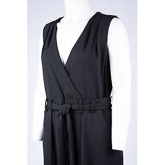 Sleeveless Surplice Neckline Jumpsuit