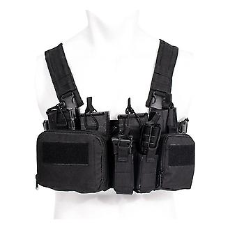 Tcm Chest Rig Airsoft Tactical Vest Military Gear Pack Magazine Pouch
