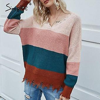 Knitted Sweater Women