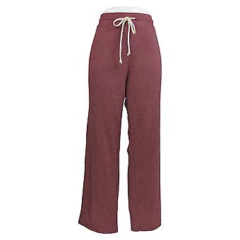 Alternative Apparel Women's Pants Fleece Lounge Red A343361