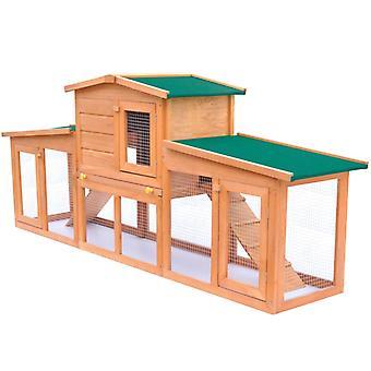 حظيرة أرنب كبيرة منزل صغير Hasenstall مع أسطح الخشب