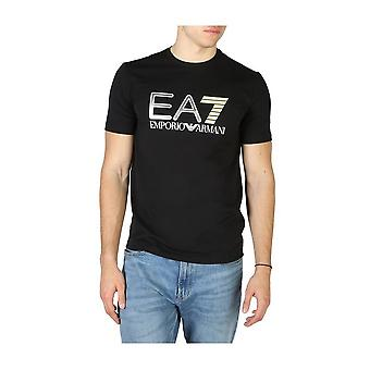 EA7 - Bekleidung - T-Shirts - 3HPT05_PJ03Z_1200 - Herren - black,yellow - XXL
